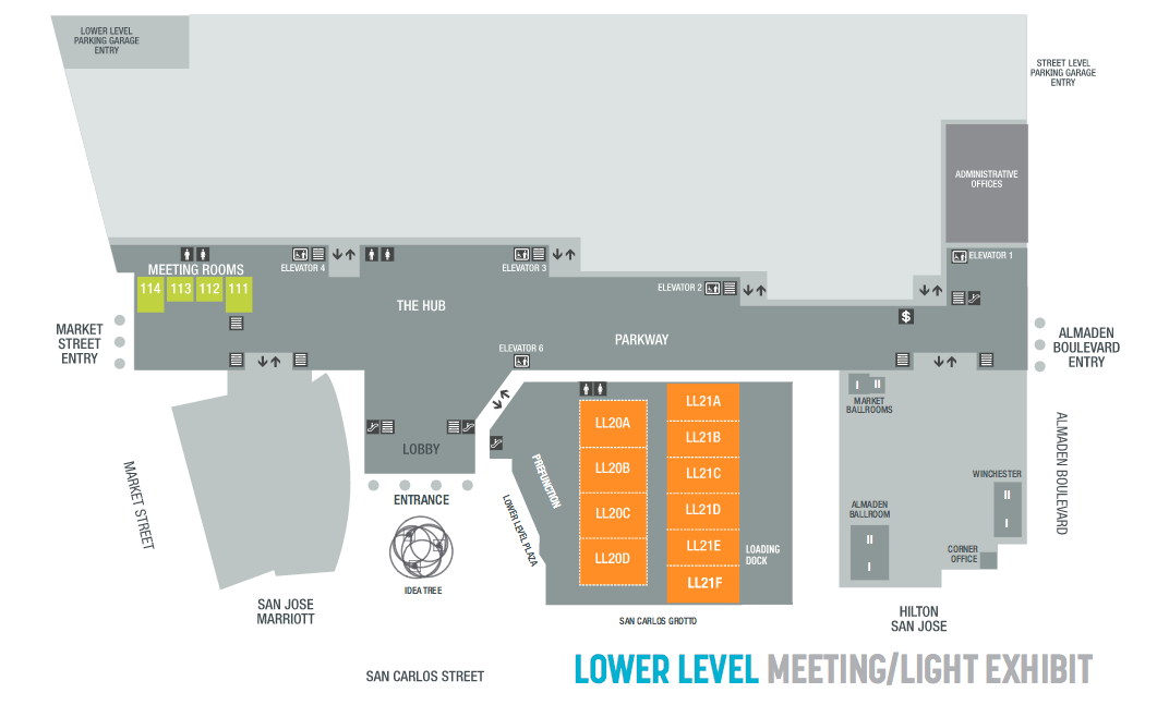 17 + Las Vegas Convention Center Map Free Wifi To Public Areas From